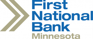 First National Bank Minnesota - Silver Sponsors of Scenic Byway River Run 2020