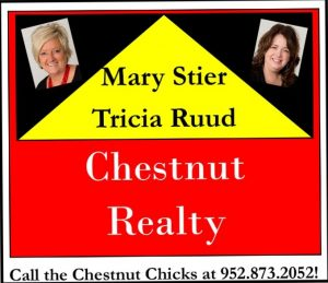 Chestnut Realty  Mary Stier & Trisha Ruud - Gold Sponsor of BBQ Days – July 2018