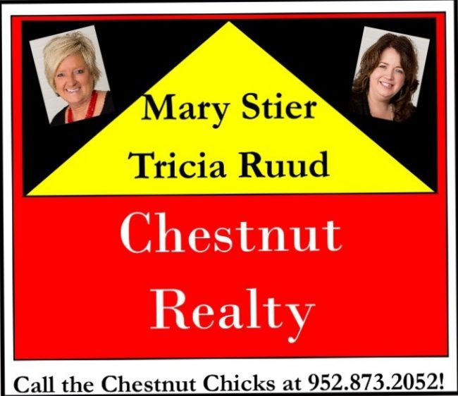 Chestnut Realty  Mary Stier & Trisha Ruud - Platinum Sponsor of BBQ Days 2020