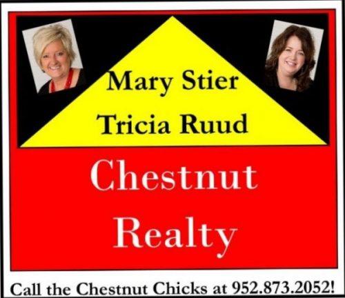 Chestnut Realty  Mary Stier & Trisha Ruud - Platinum Sponsor of BBQ Days 2021