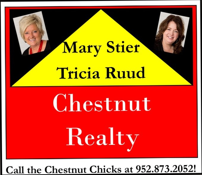 Chestnut Realty  Mary Stier & Trisha Ruud - Platinum Sponsor of BBQ Days 2020
