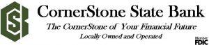 CornerStone State Bank - Gold Sponsors of BBQ Days 2021
